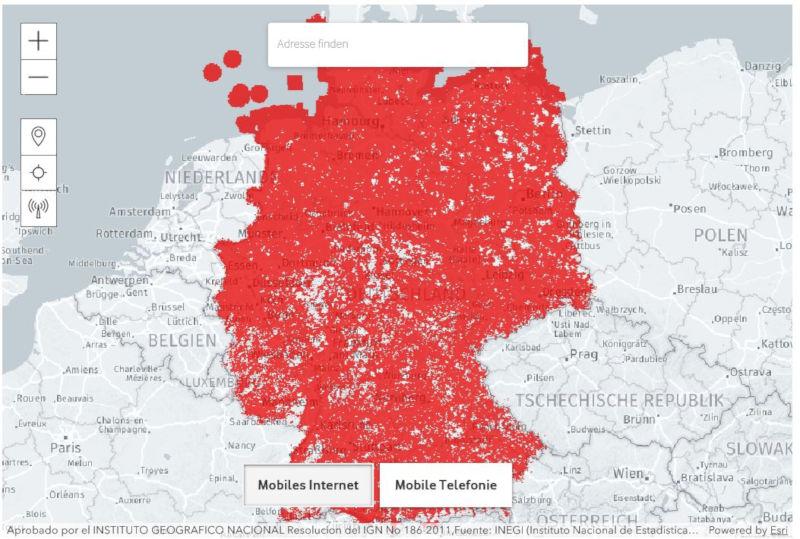 Telekom Dsl Verfügbarkeit Karte.Lte Karte Der Lte Ausbau Im überblick Lte Verfuegbarkeit Com